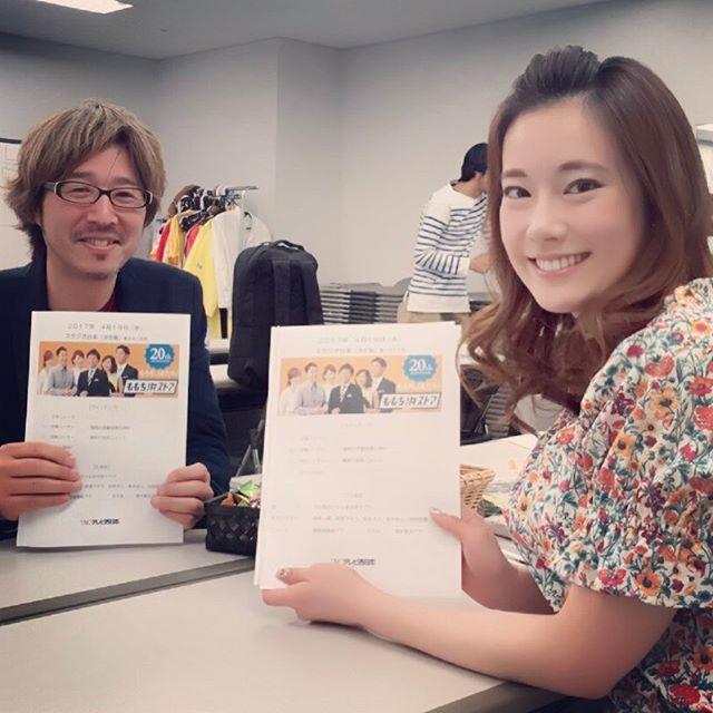 『ももち浜ストア』初登場!新コメンテーター日本貿易振興機構(JETRO)の新居大介さん!なんとパリ生まれ!これからよろしくお願いします(*^o^*) #ももち浜ストア #朝の方です#これから色んな魅力を引き出したいです#よろしくお願いします