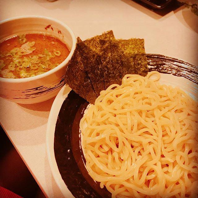無邪気デビュー!#ラーメン #つけ麺#太麺#無邪気 #三代目#美味しかった#次はラーメンにしよ!