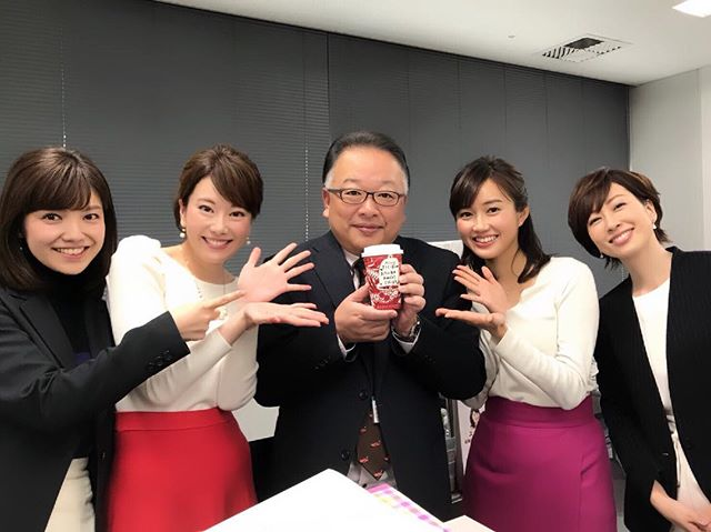 田久保部長、お誕生日おめでとうございます☆☆☆ #タリーズ で#お祝い#田久保部長 #お誕生日#tnc #女性アナウンサー より#いつもありがとうございます♡
