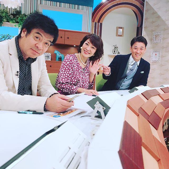今日のももち浜ストアはこの方が登場♡#西川友紀子さん#スタジオ登場#花田編集長#高村公平 さん#ももち浜ストア