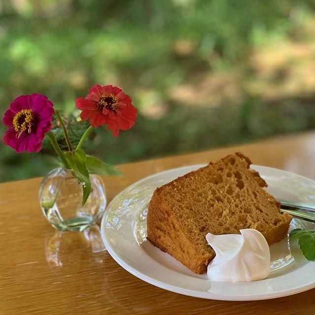 【1日限定12個】を求めて。1日限定12個!という湯布院で有名なアップルパイを求めて【Nicol】へ。このアップルパイを求めて、わざわざ湯布院に日帰りで来る方も多いらしいです!!! 私、プリンも大好きだけど、昔からアップルパイも大好きなんです!!! が、しかし。お昼前に行きましたが、時すでに遅し。やはり朝イチで行かなければダメだったようです(;o;) がーん!!! でも、良い雰囲気だったので、せっかくだからお茶していくことに☆私はシフォンケーキ、友人はチーズケーキを頼んでいました☆ドリンクは、安心院ぶどう?のジュース!!! これがまた美味しかったです(^-^) 次こそはアップルパイを求めて、また来たいです(^-^)☆ #湯布院グルメ#湯布院スウィーツ#湯布院スイーツ#ゆふいん #Nicol#湯布院カフェ#1日限定12個#アップルパイ #限定アップルパイ#午前中 #朝イチで行くことをおすすめします #景色も良いです#湯布院女子旅#tnc #アナウンサー